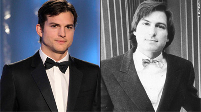 Ashton Kutcher to play Steve Jobs in movie – 06 April 2012