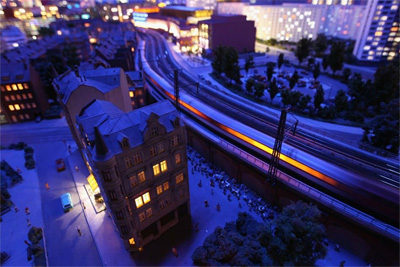LOXX – Berlin's amazing toy train landscape – 27 June 2012
