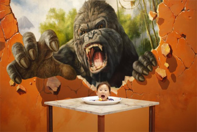 Spectacular 3D paintings at the Magic Art Special Exhibition – 15 July 2012