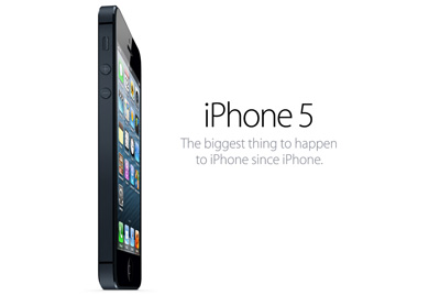 iPhone 5 – The biggest thing to happen to iPhone since iPhone – 12 September 2012